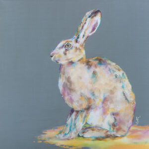 """Hare Today"" Hare Print"