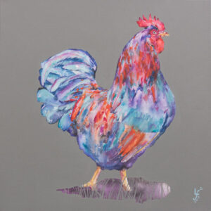 Morning Call Rooster Print