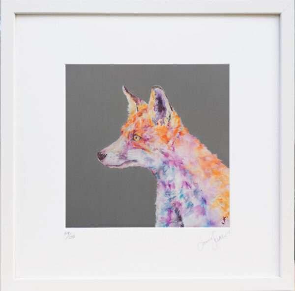Love Fox Print
