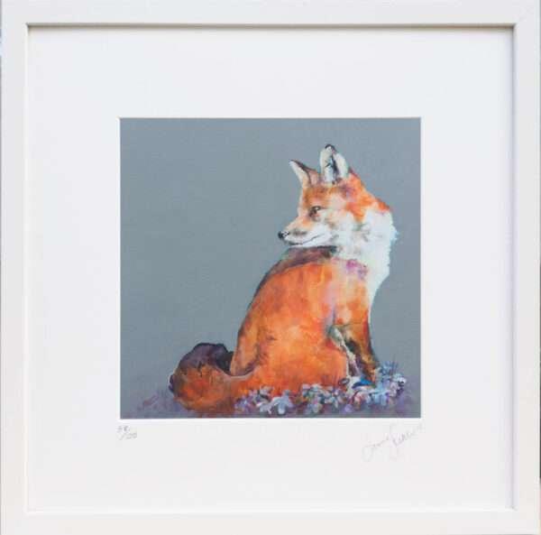 Retrospect Fox Print