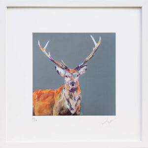 Stag Night Print