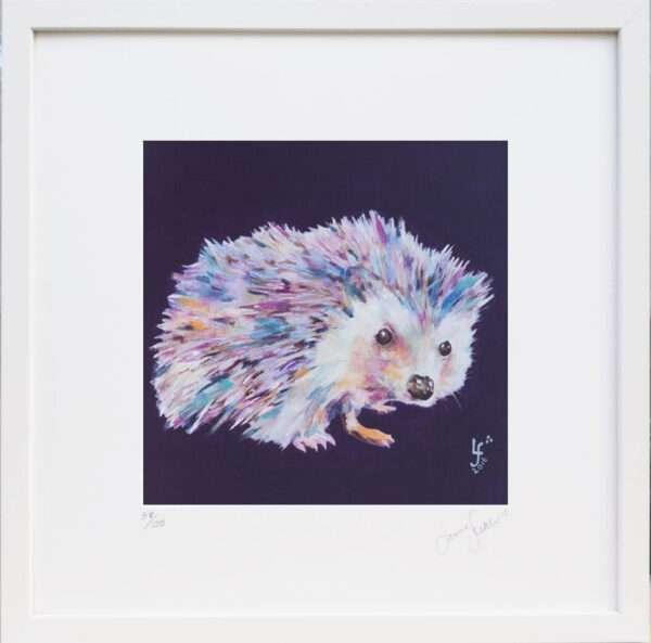Spike Hedgehog Print