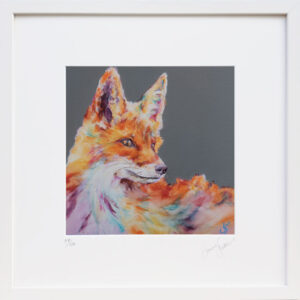 Technicolour Dreams Fox Print