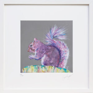 Purple Haze Squirrel print