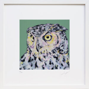 Intensity Owl print