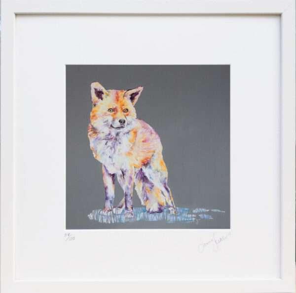 A Fox Tale print