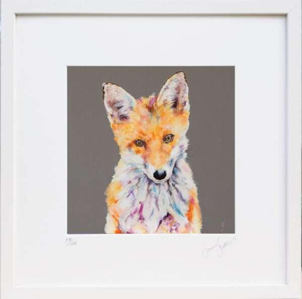 Urban Fox print