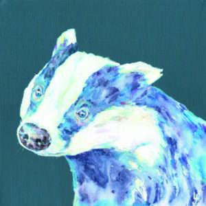 Badger Blues print