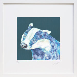 Badger Blues print