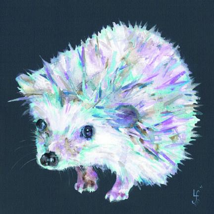 Mucky Paws Hedgehog print