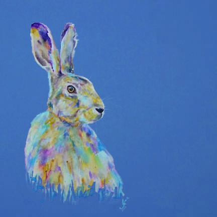 Keep Calm Hare Print