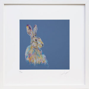 Keep Calm Hare Print