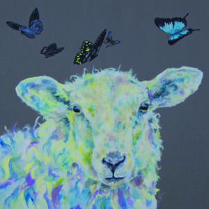 Dreamer Sheep Original Painting