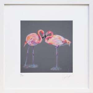 Flamingo print – Forever