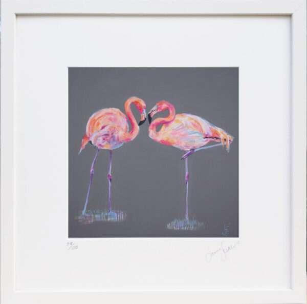Flamingo print - Forever