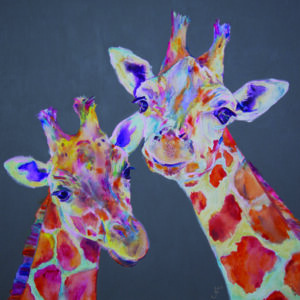 Giraffe Original Painting