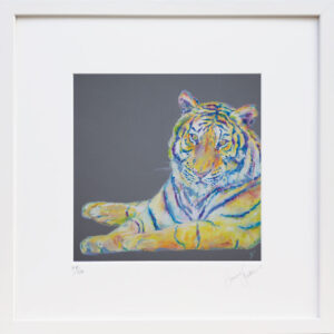 Tiger print – Be Yourself print