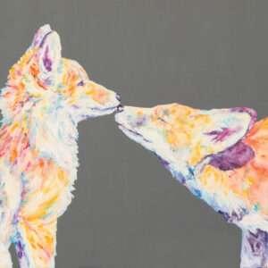 Soul Mates Fox Print