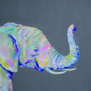 Hey Brother Elephant print