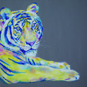 Stand out from the crowd tiger print