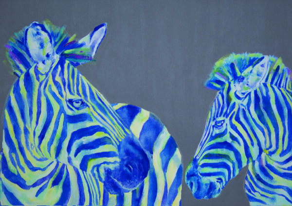 Mom knows best zebras print