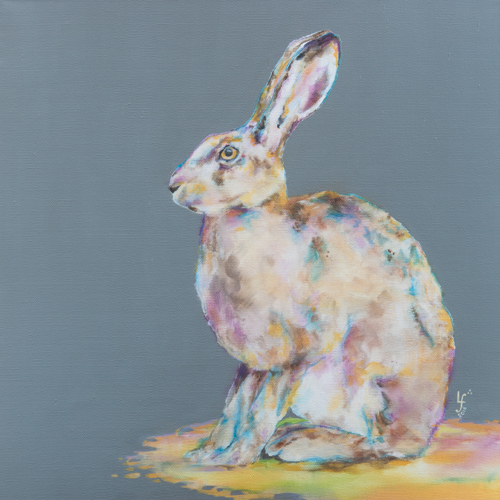"""""""Hare Today"""" Hare Print"""
