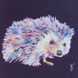 Spike Hedgehog Print