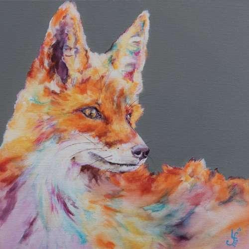 Technicolour Dreams Fox Print