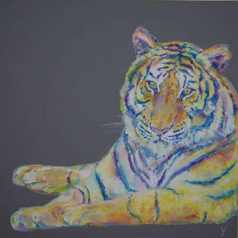 Tiger print - Be Yourself print