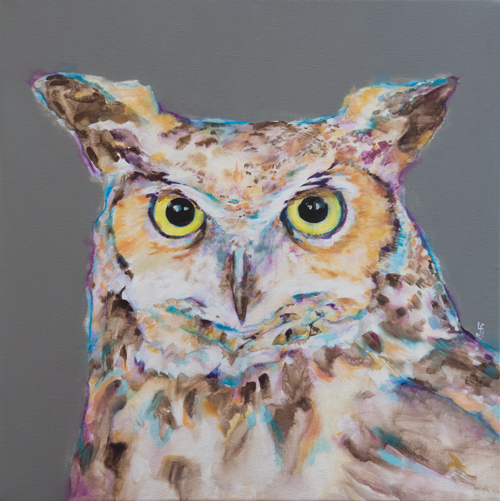 A Late Night Owl print