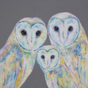 Barn Owl Painting