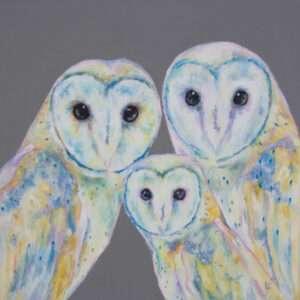 Barn Owl Painting