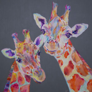 Giraffe print- Here's looking at you kid!