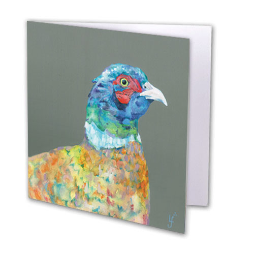 Heads Up Greeting Card