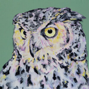 Intensity Owl print
