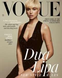 Vogue Magazine Art Feature