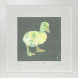 Deary Darlin Ducky Print